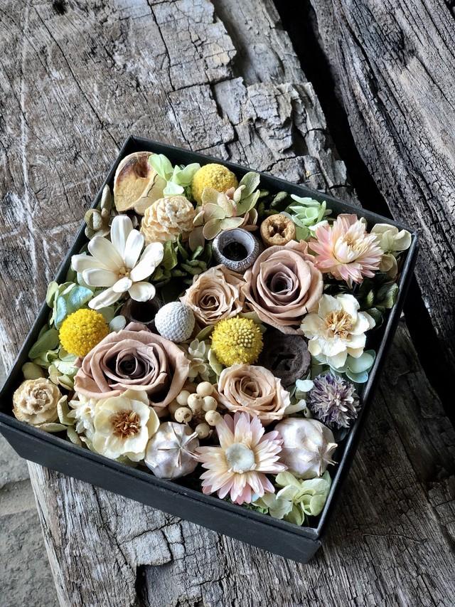 NATURAL BOX FLOWER/プリザーブドフラワー