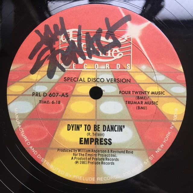Empress – Dyin' To Be Dancin'