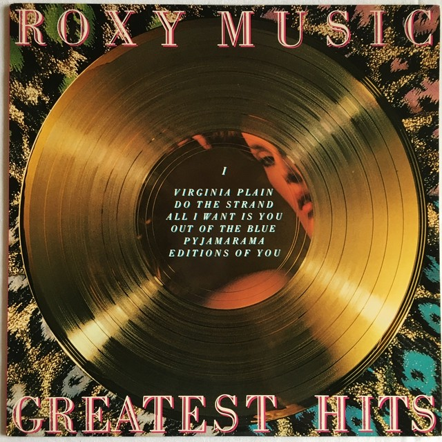 【LP・米盤】Roxy Music  /  Greatest Hits