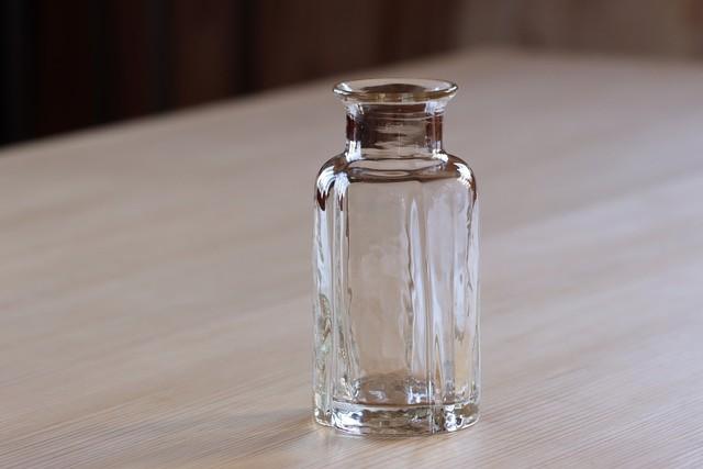 花瓶 大(丸・透明)片山悟子
