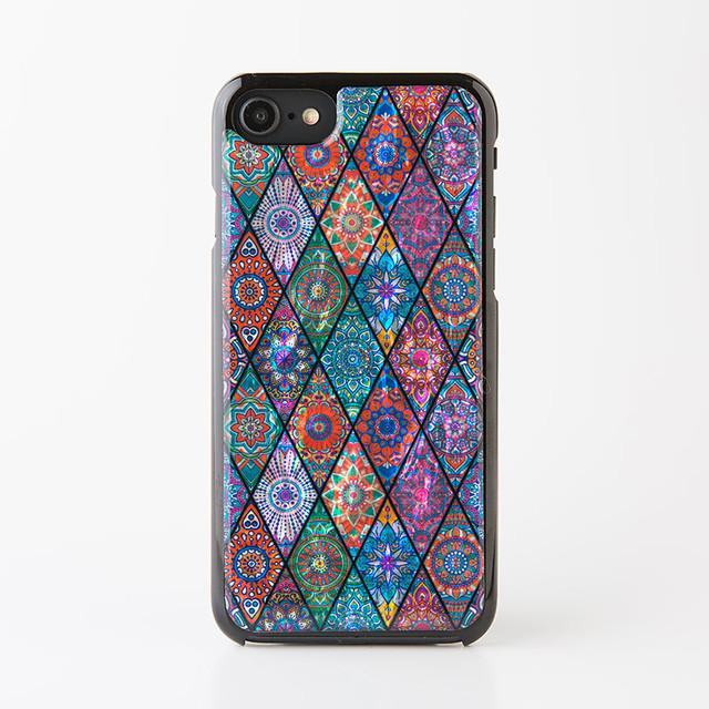 天然貝ケース★iPhone/Xperia/Galaxy スマホケース(ピンクモロッコタイル)螺鈿アート Galaxy S9 Plus XZ premium X compact