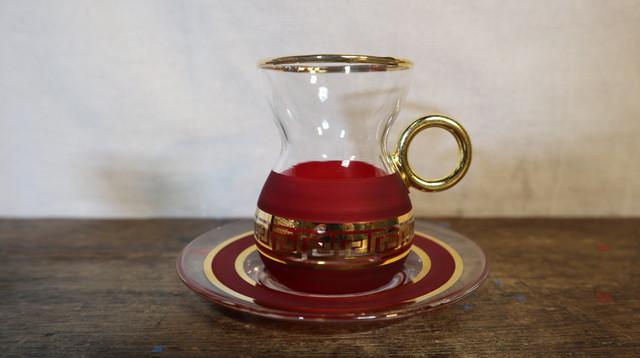 チャイグラス RED (1点)