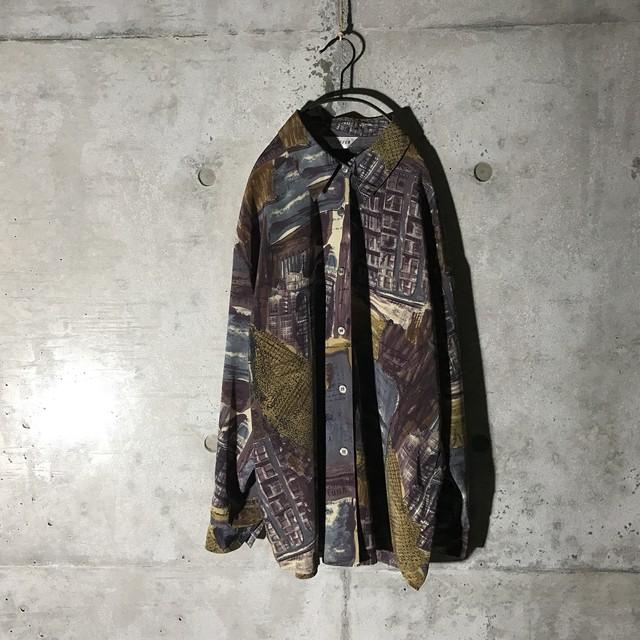 [used] like sash designed purple shirt