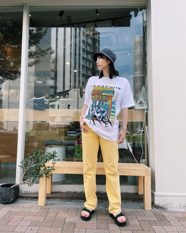 (PT226)90's Levi's  501 made in USA(yellow)