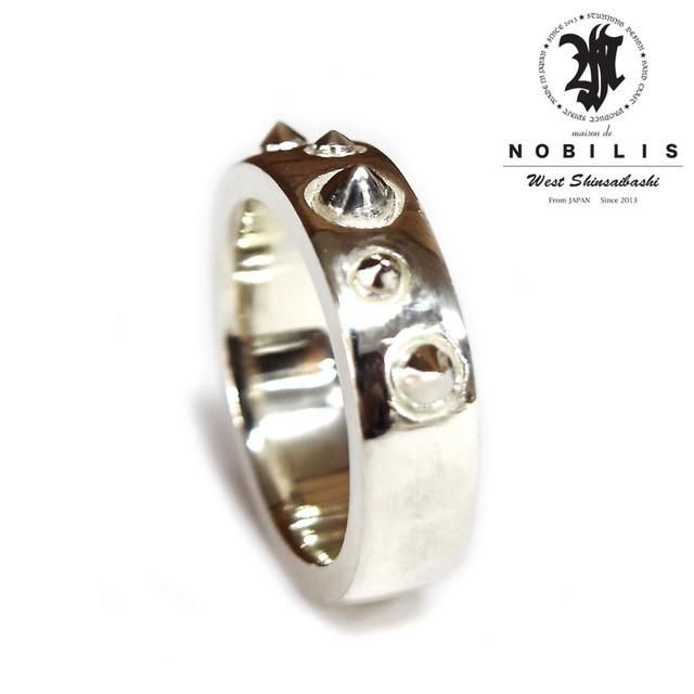 【送料無料】Studs Dot Ring Producted by NOBILIS【品番 17S2004】