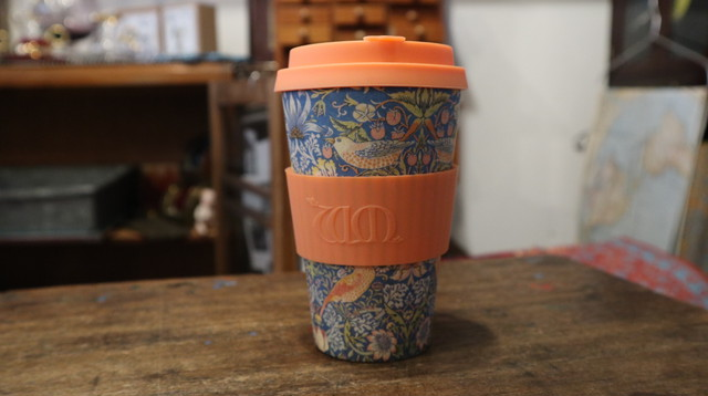 William Morris Ecoffee Cup: THIEF 400ml