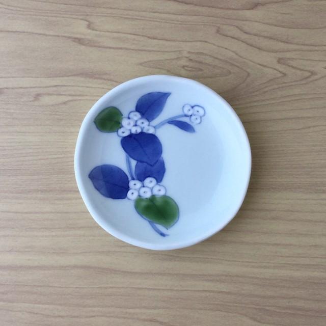 【伊万里焼】錦小手毬 手作り小皿