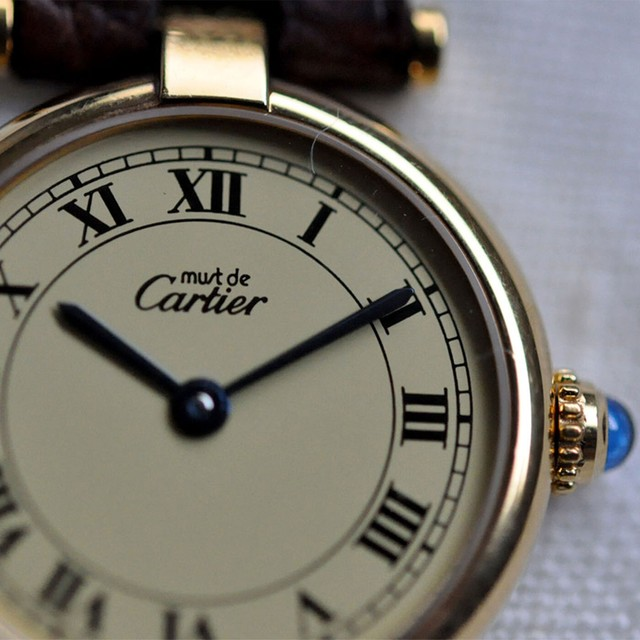 Cartier must Vendome -  ivory -