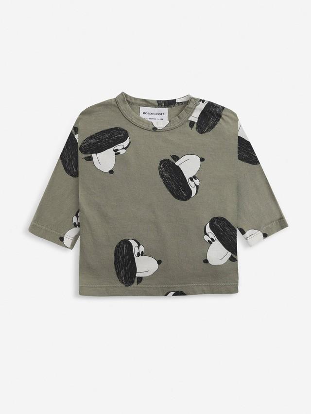 【予約7月下旬入荷】bobochoses(ボボショセス)Doggie Long Sleeve Tshirt 長袖Tシャツ