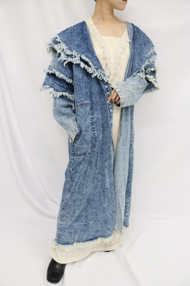 denim design coat / 5SSOU08-12