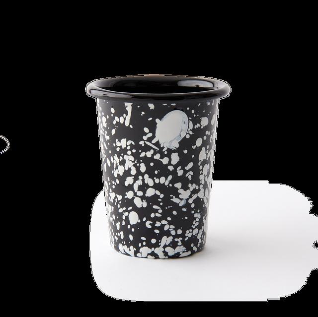 【送料無料対象】BORNN / Monochrome - Tumbler - White Splatter on Black