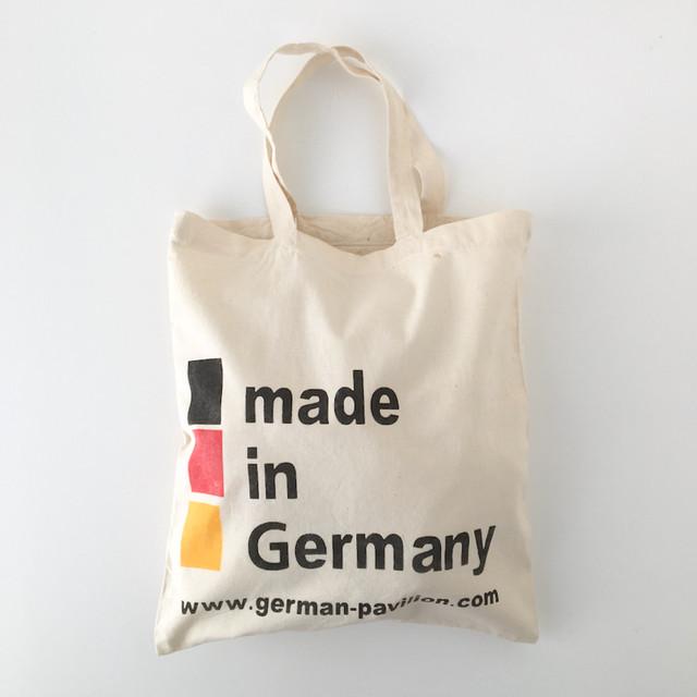 """ユーズドのトートバッグ「ドイツ パビリオン」 Used Tote Bag """"German Pavilion"""""""