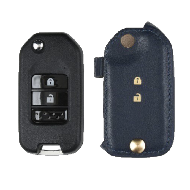 Honda 専用 TypeC-2 Car Key Case Shrink Leather Case