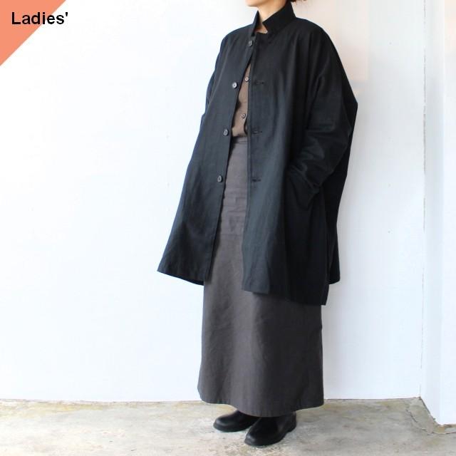 SETTO セット MARKET JKT 綿麻キャンバスマーケットジャケット STL-JK055 Black