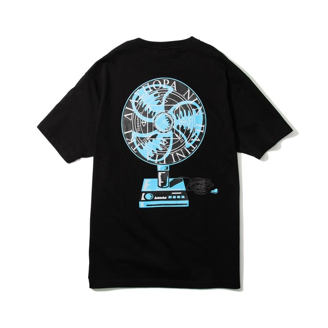 DIASPORA SKATEBOARDS  Fan Magic Circle Tee Black