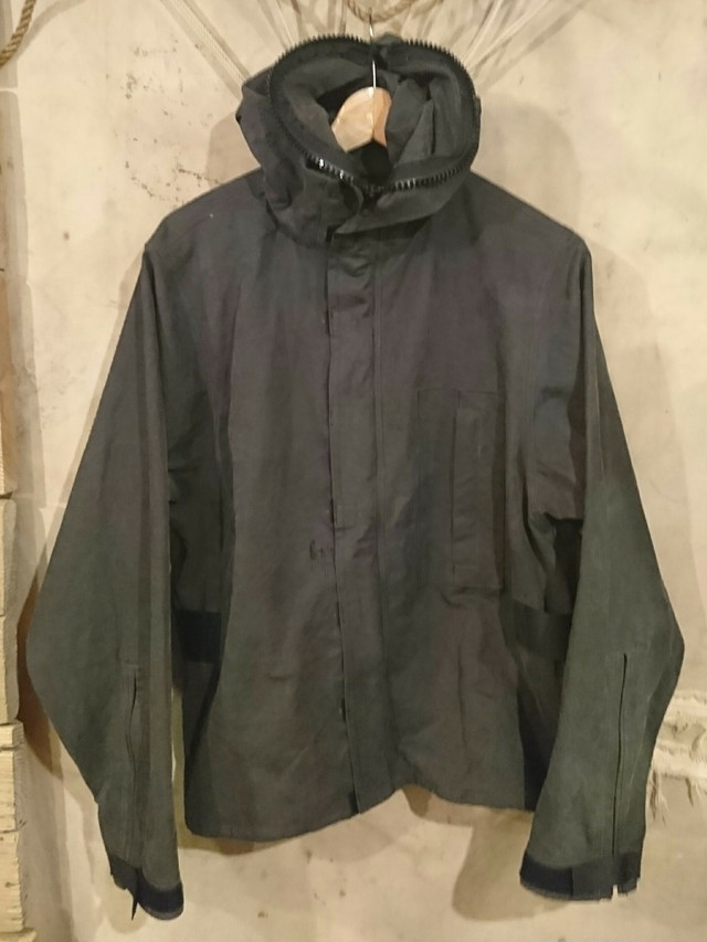 "BAA COSTUME MFG.""M.R PROTECTIVE PARKA"" Black Color ⑧"