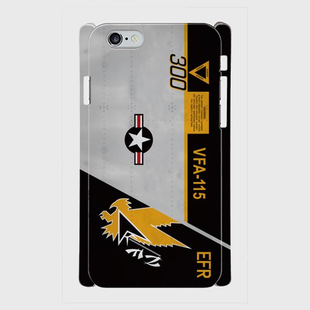 アメリカ海軍VFA-115-『Eagles』米海軍航空100周年記念塗装 iPhoneケース