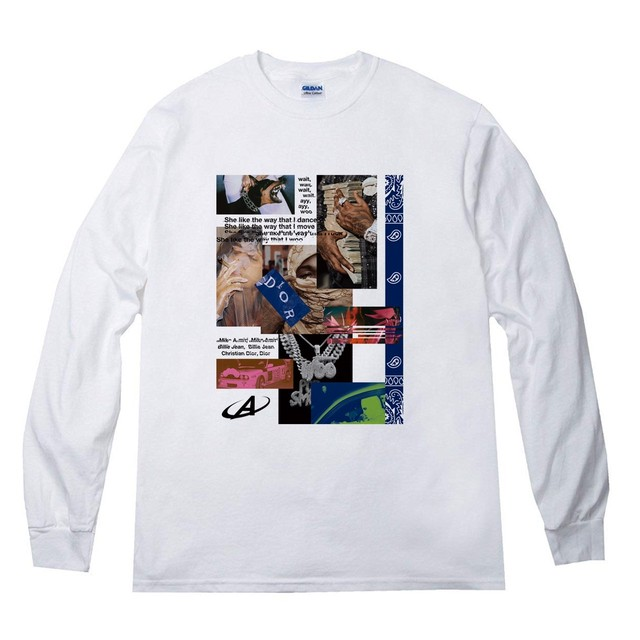 ANSWER COLLECTION / POP SMOKE R.I.P. L/S TEE