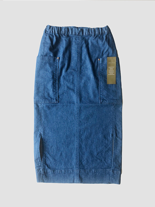 Long tight skirt Denim / lelill