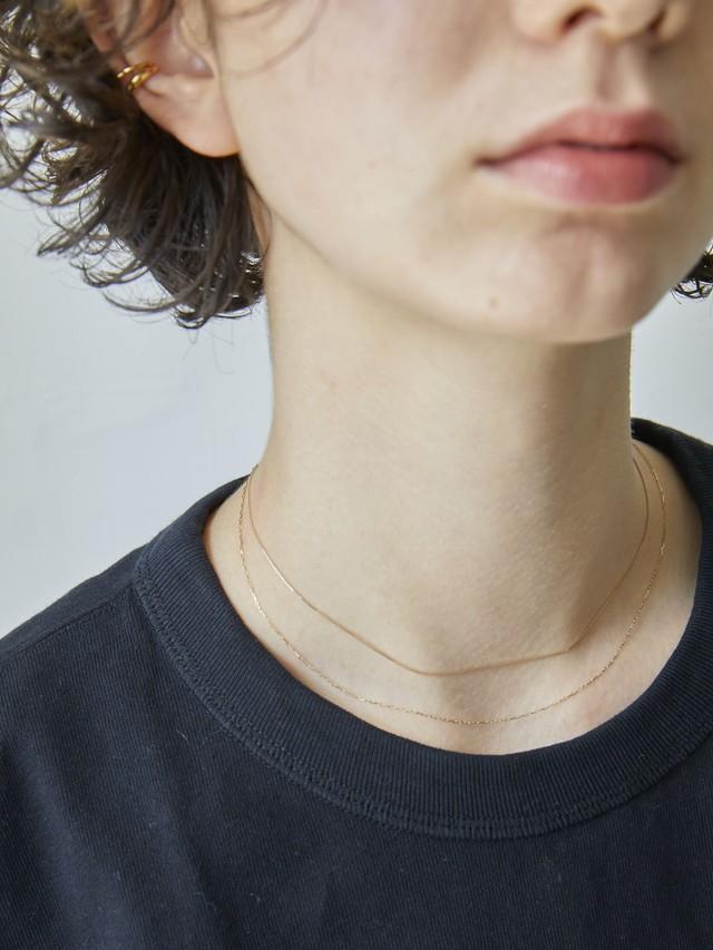<4/26 仕様変更のため在庫分にて販売終了>adjustable tiny necklace gold K10