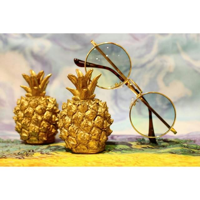 2colorパイナップルのオブジェ/浜松雑貨屋 C0pernicus