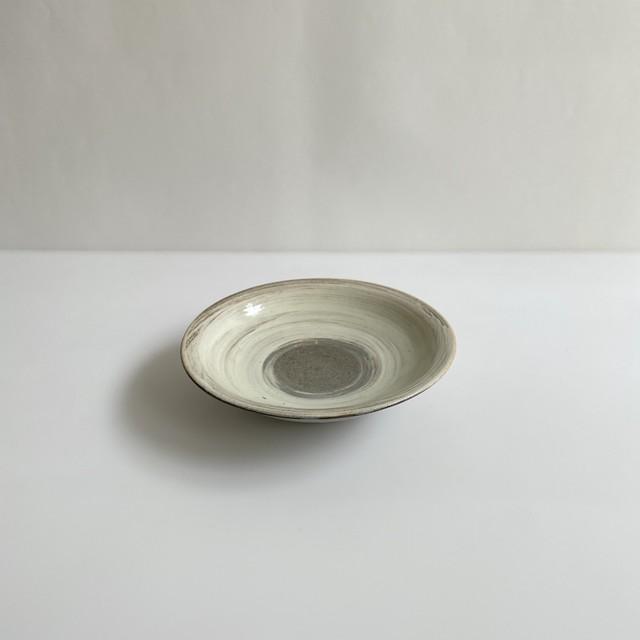 清水善行    刷毛目 六寸皿