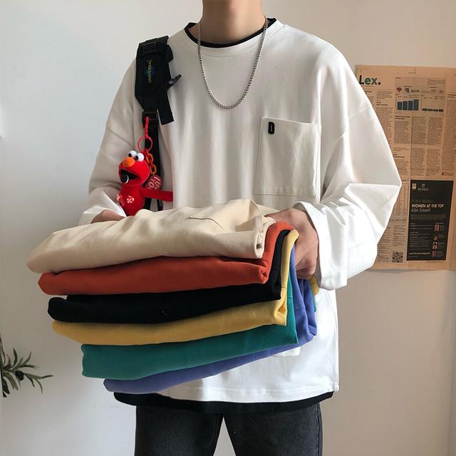 ダブルフェイスロングTシャツ
