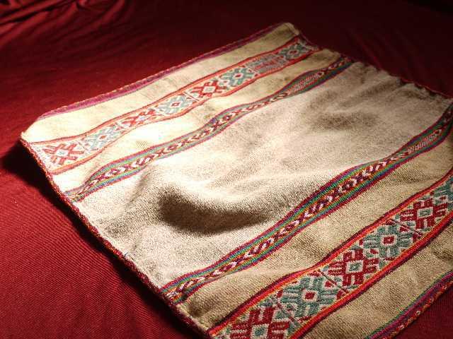 アンデスの織物①(小サイズ)