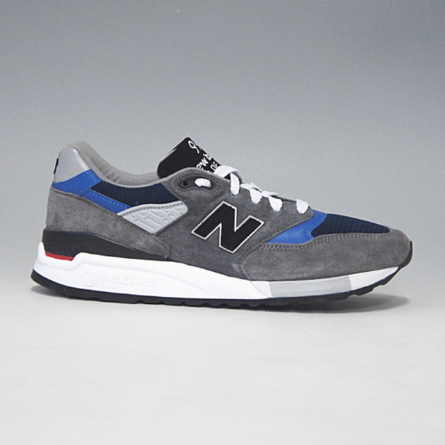 sports shoes c9d8c 9ba7a NEW BALANCE M998NF ニューバランス MADE IN U.S.A. グレー/ブルー | clomani powered by BASE