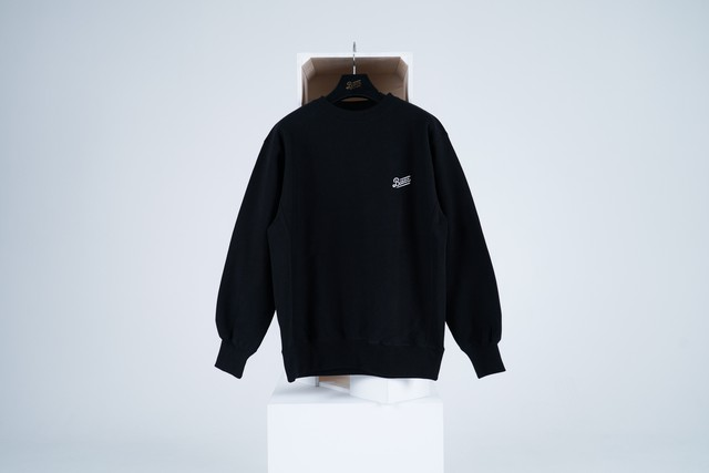LOGO SWEAT SHIRT [BLACK]