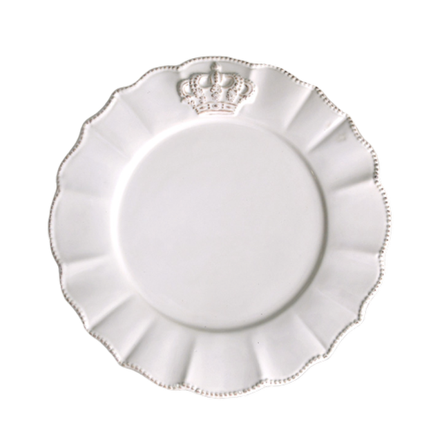 Crown round dish / ラウンド クラウン ディッシュ 19㎝