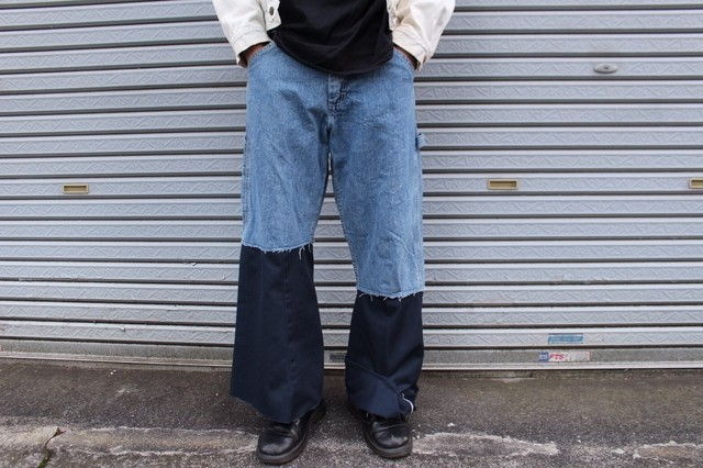 Remake Wide Denim Pants 【Lee】