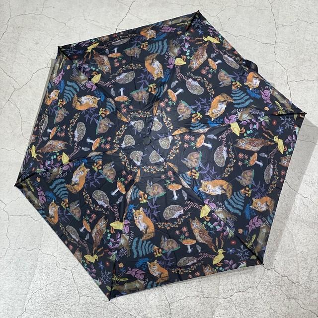 Nathalie Lete Folding Umbrella Forest