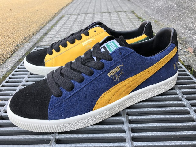 PUMA x THE HUNDREDS CLYDE (SODALITE BLUE-SPECTRA YELLOW)