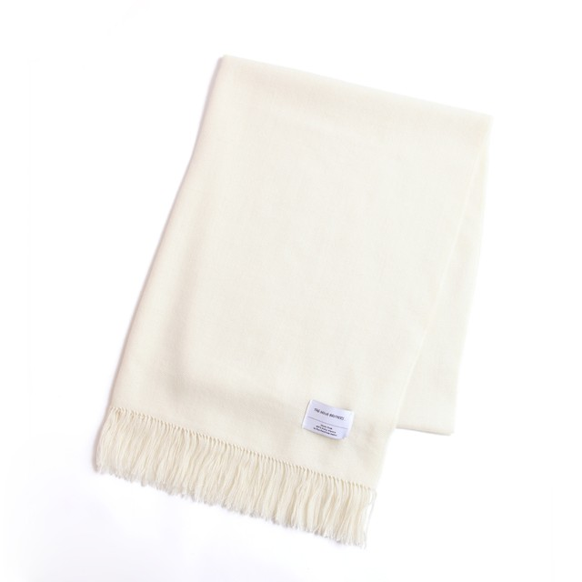 THE INOUE BROTHERS/Woven Stole/Ecru