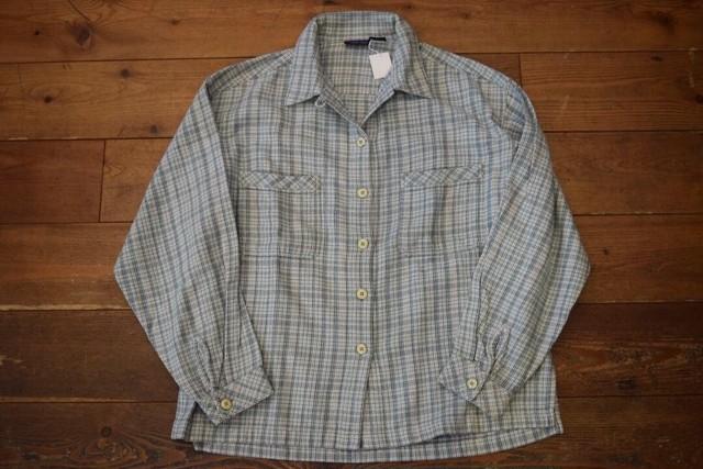 USED レディース  パタゴニア ヘビーフランネルシャツ 90s patagonia M
