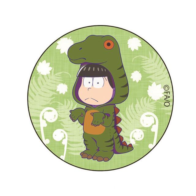 【4589839356930予】おそ松さん コシザサウルス チョロ松 缶バッジ