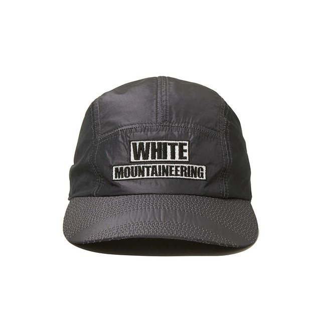 WM LOGO EMBROIDERED JET CAP -GRAY