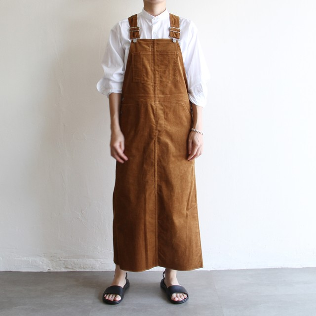 UNION LAUNCH【 womens 】overall skirt