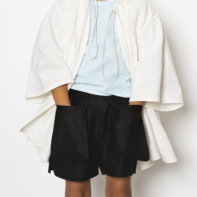 folk made pocket short pants  M・Lサイズ F21SS008 ※メール便1点までOK