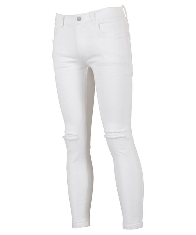 SUPER STRETCH COLOR SKINNY PANTS[REP125]