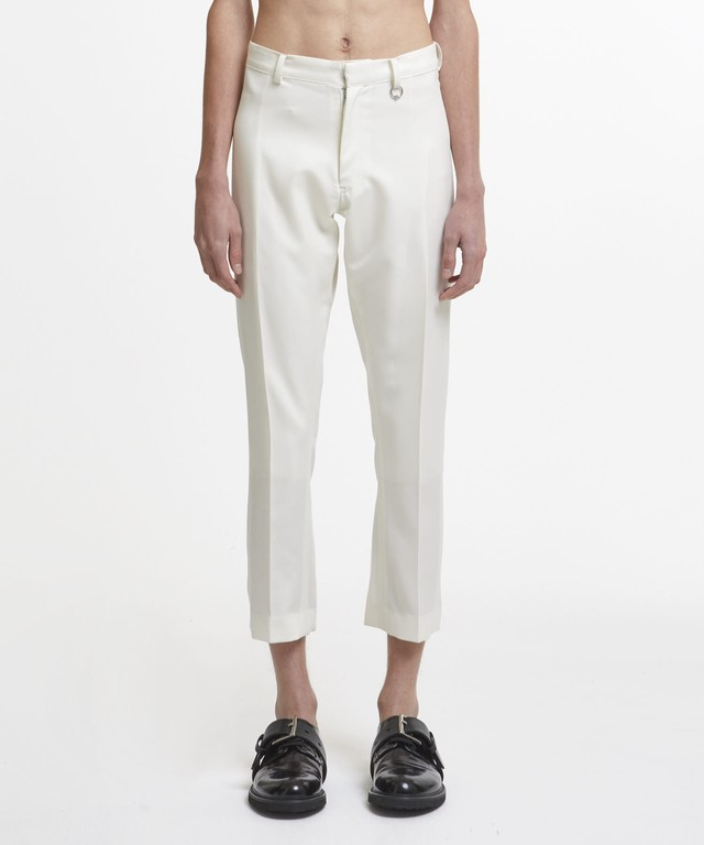 White Back Vented Trousers