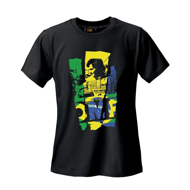 "OR5916071  ""SENNA"" T-Shirt (BLACK)"