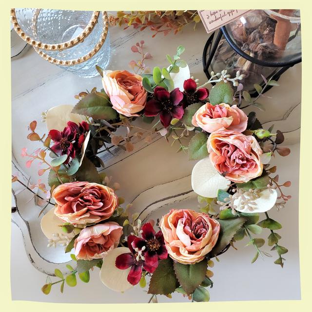 Seasonal Wreath Delivery 20㎝サイズ