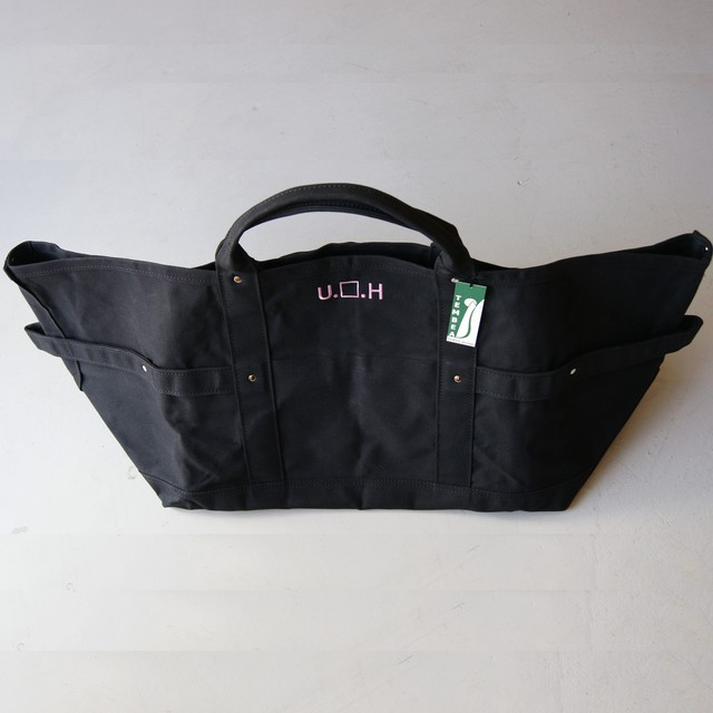 ULTRA HEAVY × TEMBEA Black hole Tote Bag / BLK