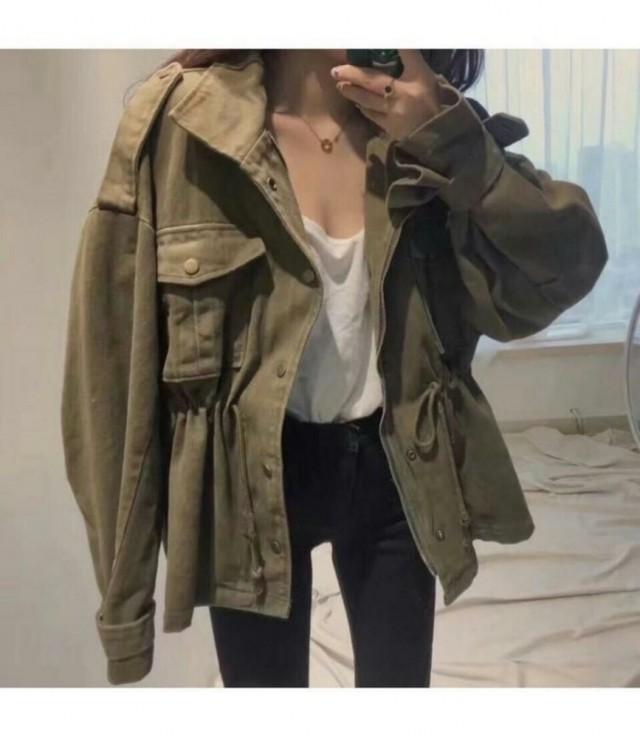 レタリングタグジャケット
