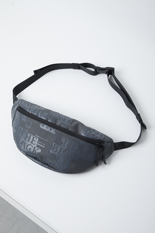 BLACK EYE PATCH / LABEL WAIST POUCH
