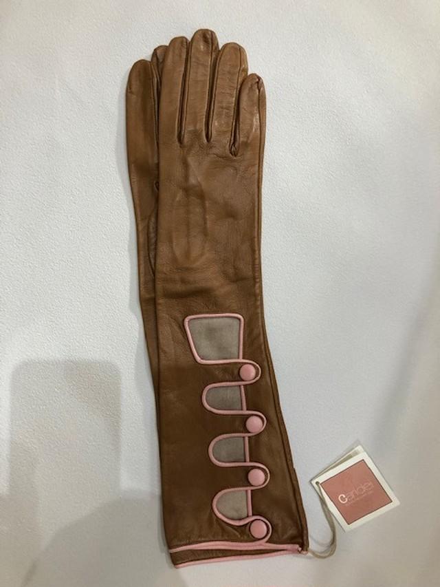 CARIDEI イタリア製 シープロング手袋 55/09
