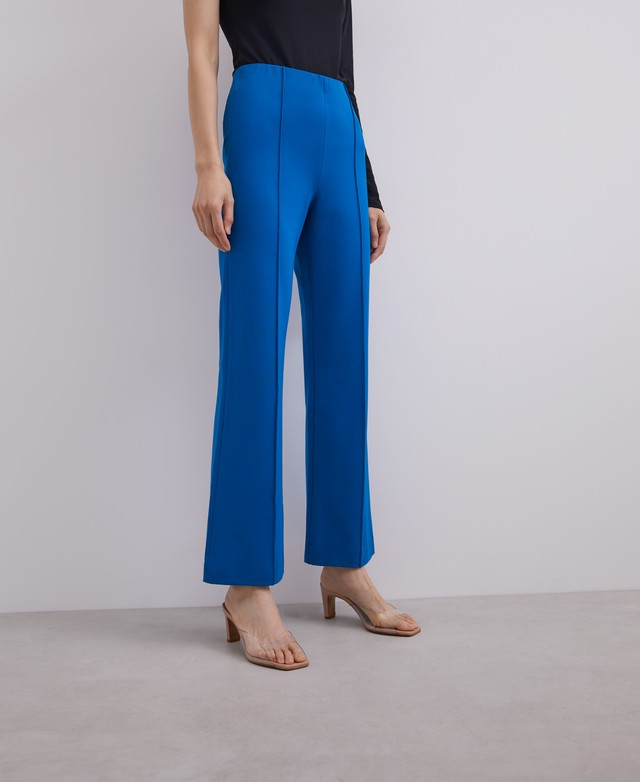 STRAIGHT TROUSERS WITH FRENCH SEAMS [269091565211]