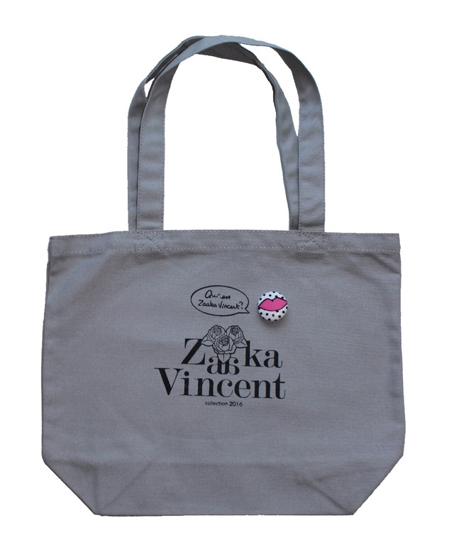 Zaaka Vincent トートバッグ